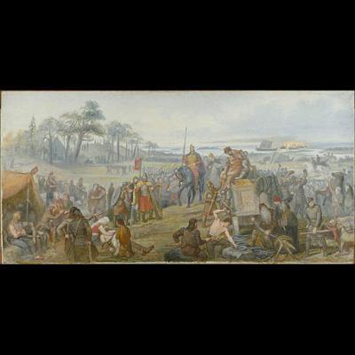 Après la bataille de Fyrisvall