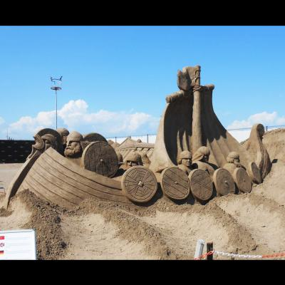 Bateau viking - Antalya (Turquie)
