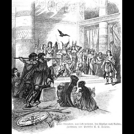 La mort de Baldr