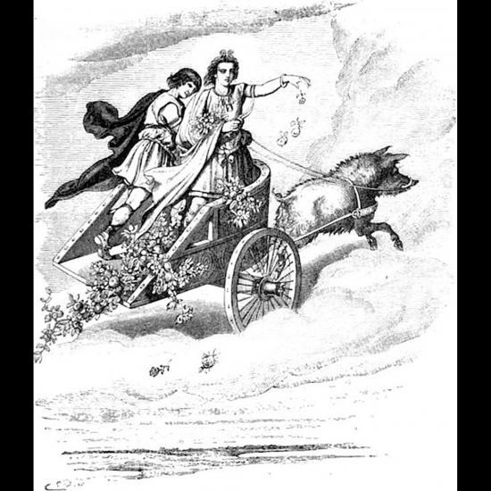Freyr et Skírnir