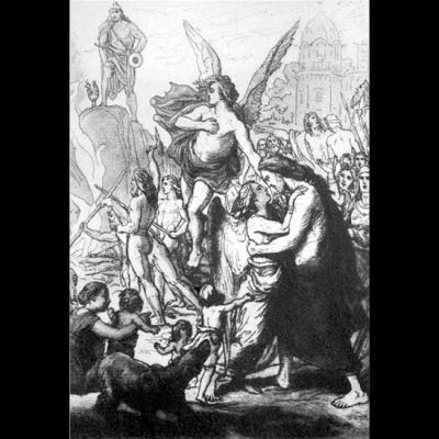 Iðunn ramenée à Asgard