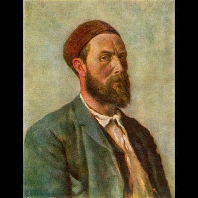 Theodor Kittelsen, Autoportrait 1891