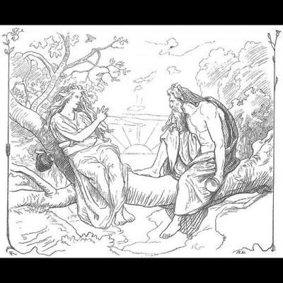 Odin et Sága