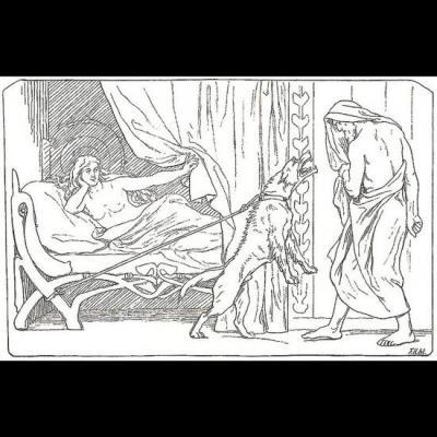 Odin et la fille de Billingr