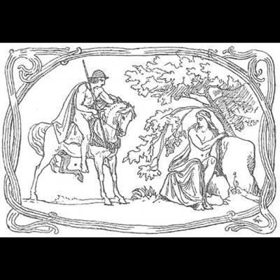 Skirnir rencontre un berger