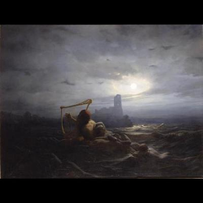 L'esprit de l'eau et les filles d'Ægir