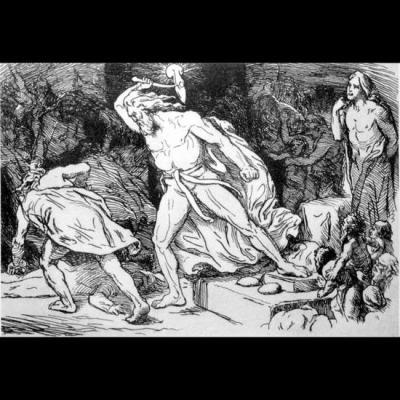 Thor anéantit le géant Thrym