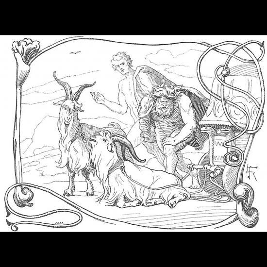Thor et Tyr