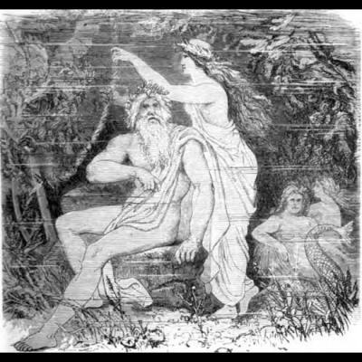 Sous la mer, Ægir et sa femme Rán