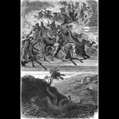 La chasse sauvage d'Odin
