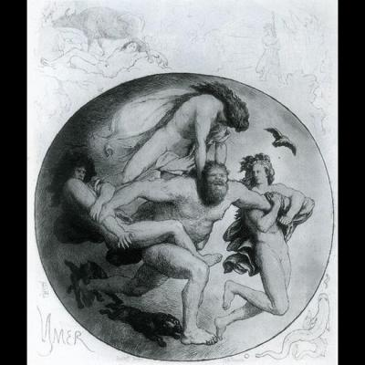 Ymir tué par Odin et ses frères