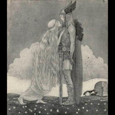 Freyja et Svipdag