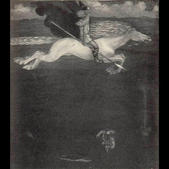 Odin et Sleipnir
