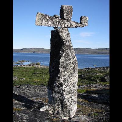 Le Marteau de Thor - péninsule d'Ungava, Nunavik (Canada)