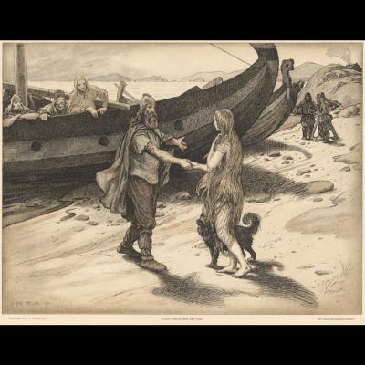 Ragnar Lodbrog og Kraka