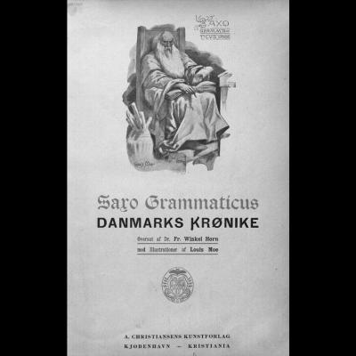Saxo Grammaticus illustration par Louis Moe