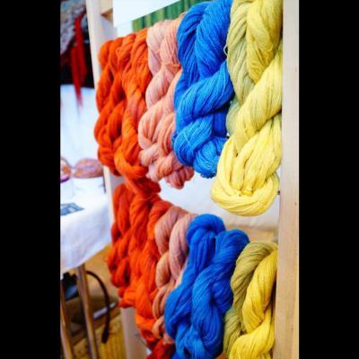 Teinture vegetale de la laine