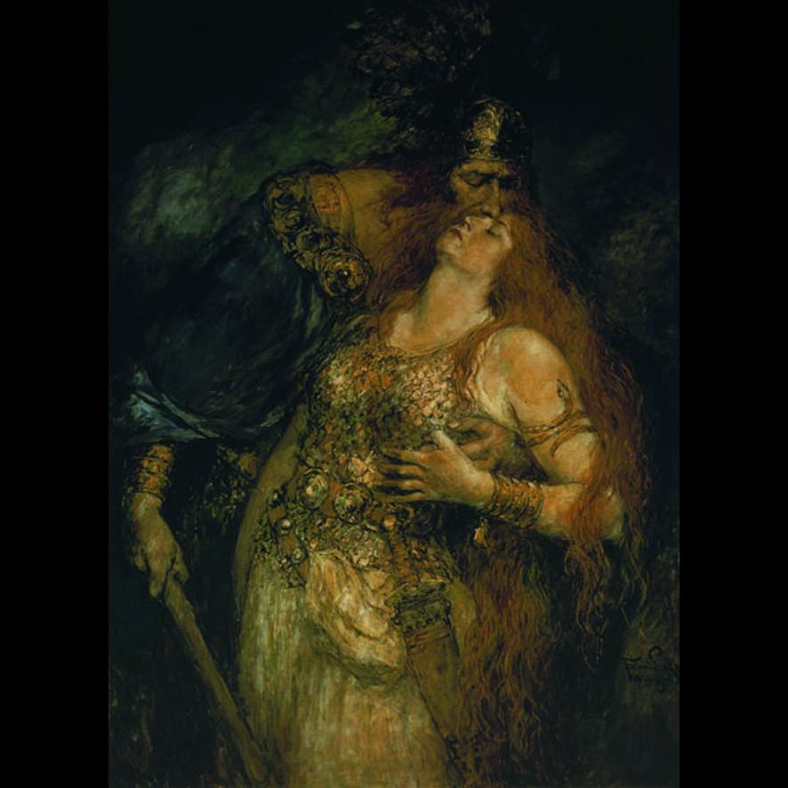 Wotan et Brunhilde