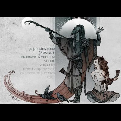 Witchcraft (illustration du Lokasenna)