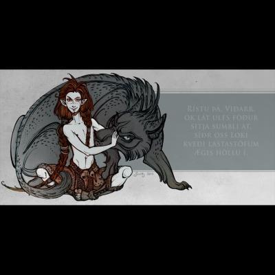Wolf's Father (illustration du Lokasenna)