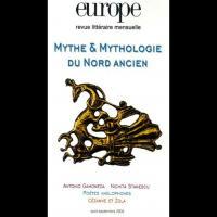 Mythe et Mythologie du Nord ancien