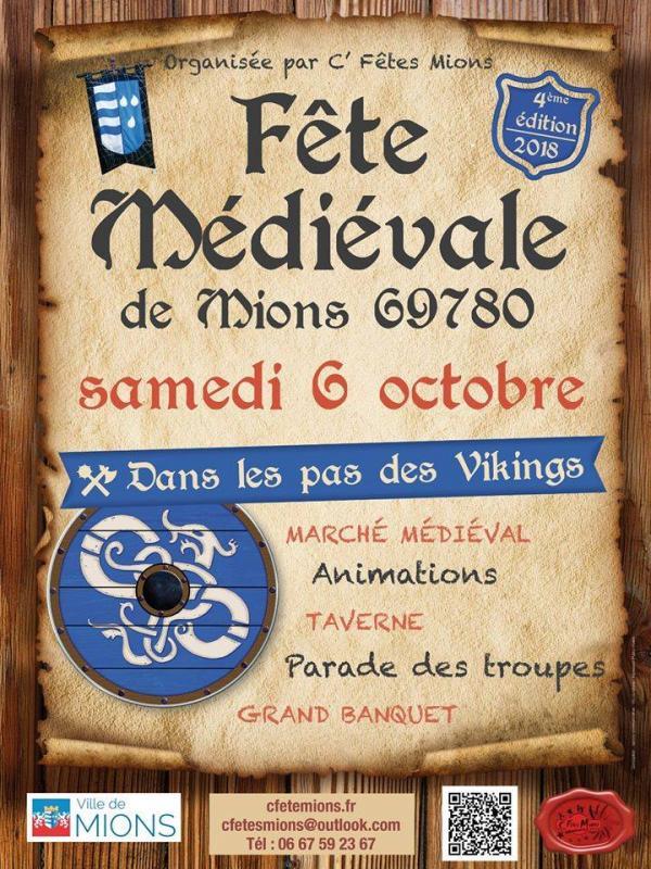 Fête médiévale de Mions: Dans les pas des Vikings