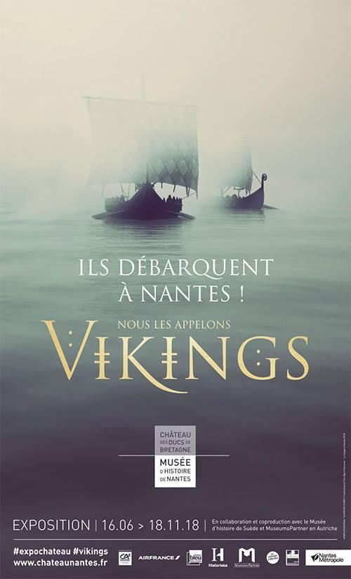 Exposition - Nous les appelons Vikings, à Nantes
