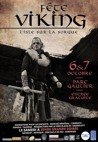 Fête viking de l'Isle-sur-la-Sorgue