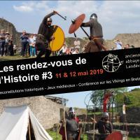 3ème édition desRendez-vous de l'Histoireà l'Ancienne Abbaye de Landévennec