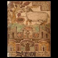 Heidrun (image extraite d'un manuscrit islandais du XIIIème siècle)