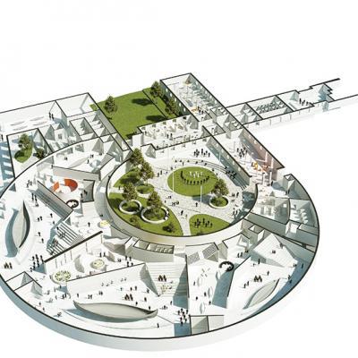 Le nouveau musée de l'Age Viking d'Oslo vu par AART Architects