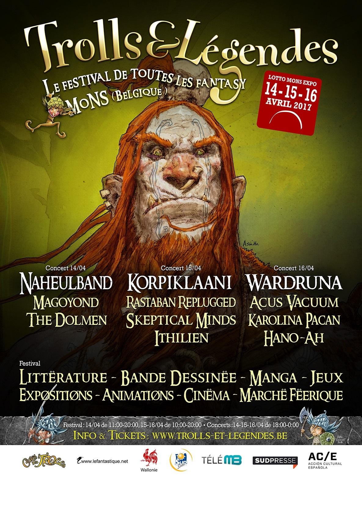 Trolls &  Légendes 2017: Les Légendes nordiques