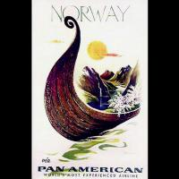 Affiche Pan American World Airways (Pan Am)