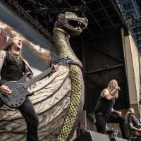 Amon amarth au Mayhem Festival, 2013 - Photo: Noisecreep