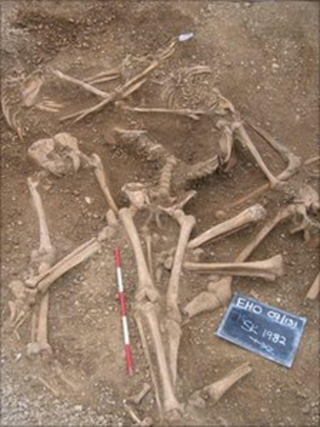 Angleterre - Des Vikings victimes du massacre de la St Brice au St John's College, Oxford - Photo: BBC