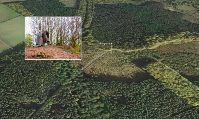 Le site viking de Thynghowe dans la forêt de Sherwood