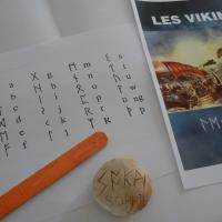 Ateliers ouverts : l'écriture viking!