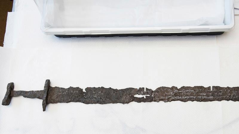 Canada - L' «épée de Beardmore»  - Photo: Brian Boyle/ Musée royal de l'Ontario