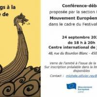 Conférence - Les Vikings à la conquête de l'Europe