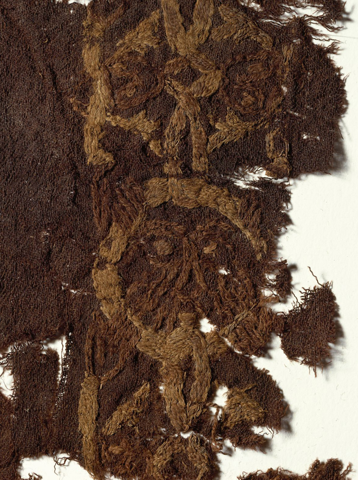 Broderie de la tombe de Mammen - Photo: Musée national du Danemark