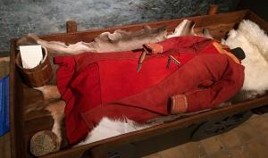 Danemark - Chariot funéraire découvert à Rubjerg et présenté à l'exposition