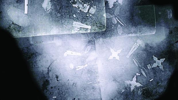 Image 3D de la tombe du viking de Fregerslev - Photo: Skanderborg museum