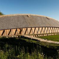 Danemark -  Kongehallen, la halle royale de Lejre, a été inauguré par la reine Margrethe II - Photo Sagnlandet Lejre