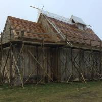 Danemark - La première église de l'Âge Viking au Danemark reconstruite grâce au Centre viking de Ribe sera inaugurée le 3 mai 2018 - Photo: Kåre Welinder