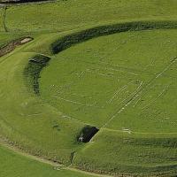 Danemark- Trelleborg, une forteresse circulaire édifiée par le roi Harald à la Dent bleue - Photo: Musée national du Danemark