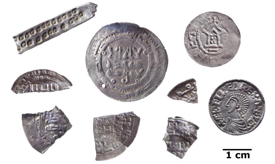 Danemark - Un trésor de 51 pièces en argent découvert sur l'île de Bornholm - Photo Musée de Bornholm