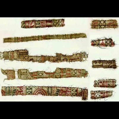 Norvège -De la soie persane dans la sépulture d'Oseberg
