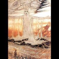 Rán, par Arthur Rackham (1911)