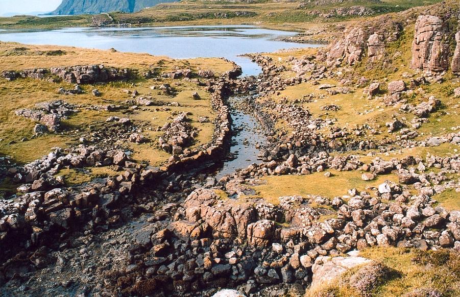 Ecosse - Rubh' an Dùnain, le chenal viking
