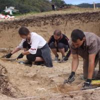 Espagne - Un mur défensif mis au jour sur le site d'Os Moutillós - Photo: El Progreso